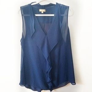 EUC Sheer Princess Vera Wang Top Size XL
